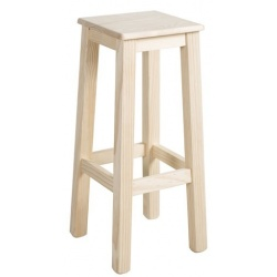 TABOURET SIMPLE 75 S/BOIS