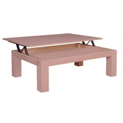 TABLE CENTRALE FIXE MOD. NATURA 110X70